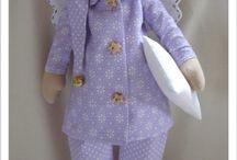 Tilda / Tilda babák varrása öltöztetése