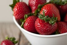 Strawberry / Fresh to cooked. Everything strawberry