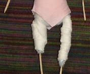 biegepuppen/ wired dolls