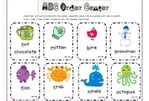 Primary Reading-Letter Recognition & ABC Order / by Natalie Davis