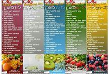 Juicing / Different juice recipes