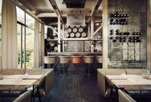 Rustic Vineyard Restaurant Design