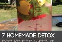 Home made detox waters