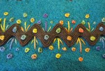 Embroidery Ric rac