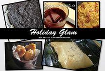 Holiday Glam: The Launch / 30+ Festive Caribbean Recipes by Sarina, founder of TriniGourmet.com / by Sarina