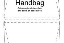 handbag/shoe cards