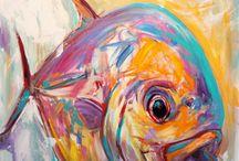 Expressionist fisch
