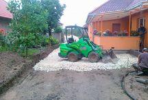 Kertrendezés, gépi földmunka - Avant 528