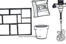 Guider och tips / Kreativa guider, pyssel, trädgård, konst och bygg. Illustrationer och bilder