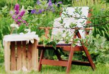 eco design in garden / eco design in garden