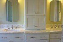 My bathroom redo / by Breea Staton
