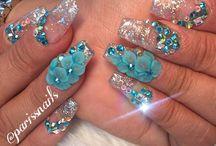 Diy face/feet/nails care