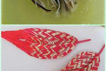 handmade feather diy