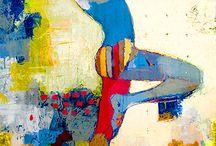 sport schilderij