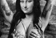 Mona Lisa gone wild!