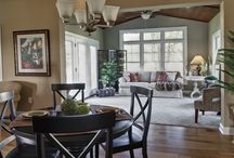 Living Spaces For Home / by Deb Thompson - Just Short Of Crazy
