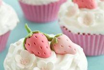 les cupcake qu'elle belle invention :)