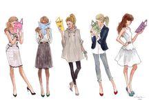 print || Fashionably Drawn