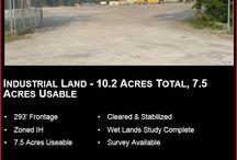 Land for Sale / land for sale, building for sale, office buildings for sale warehouses for sale or lease, Jacksonville, FL