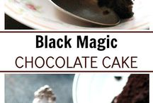 Black magic choc cake
