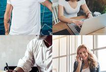 Basics für jede Gelegenheit ♡ / Einfache Mode für jede Situation. Für die Arbeit, zuhause oder auf dem Sprung - Basics für jede Gelegenheit!