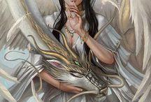 fantasy art / by Serina Annard