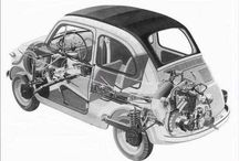 Fiat 500 technical images