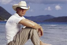 """Kenny Chesney / Anyone who knows me knows that Kenny Chesney is my absolute favorite man in country music, or any other genre for that matter.  His music reaches me like nobody else's ever has.  I don't have to listen to his new music before I buy the CD.  I just buy it when it comes out and I'm never disappointed.  And he doesn't have to ask me more than once to """"Come Over"""". / by Paula Melton"""