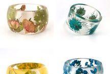 resin jawelry