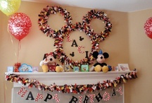 mickey and minnie party
