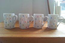Porcelain pen mug inspiration