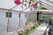 Feiern im Zelt