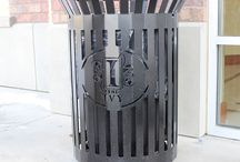 Trash Receptacles / Our trash receptacles are one way to beautify your landscape.