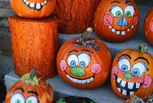 Painted pumpkins / by Brenda Tabor