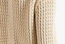 плетеный узор карди