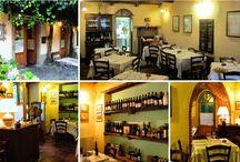 OSTERIE E BOTTEGHE TIPICHE / Trattorie, ristoranti, enoteche e botteghe tipiche italiane