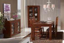 Nature / La colección Nature es el máximo exponente del estilo colonial. Se compone de muebles de mindi en color nogal diseñados para crear ambientes cálidos y naturales.