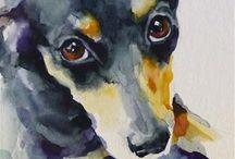 Art, foto ... miluji psy...