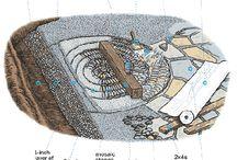 kavics mozaik