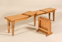 Amish Made Benches / Solid Wood benches, hope chests, coat trees.  See more at http://www.amishfurniturewarehouse.biz/benches.php
