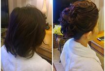 SHORT HAIR WEDDING HAIRSTYLES IN ROME ITALY
