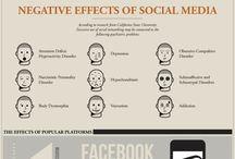 Social media . .