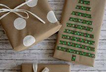 Verpacken / Weihnachten