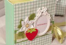Scrapbook. Guseva & Co / Скрапбукинг, альбомы, открытки