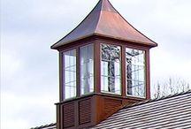 Cupolas & Weathervanes & lightning rods / by De Swails