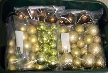 Holiday Storage / Halloween, Christmas, Easter, etc decor cleaning and storage tips and ideas.