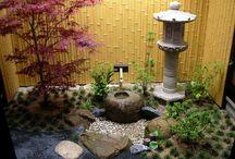 Mini japonaise jardin