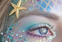 Maquiagem inspirado em sereias