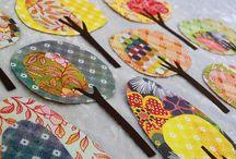 Paper & Paint Chip Crafts