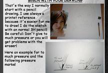 General drawing tutorials